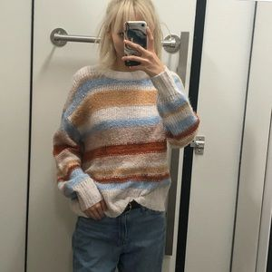 AE Stripped Sweater